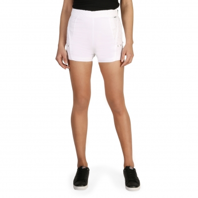 Pantaloni scurti Calvin Klein J20J205428 Alb