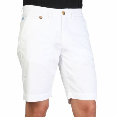 Pantaloni scurti La Martina HMB003TW29 Alb