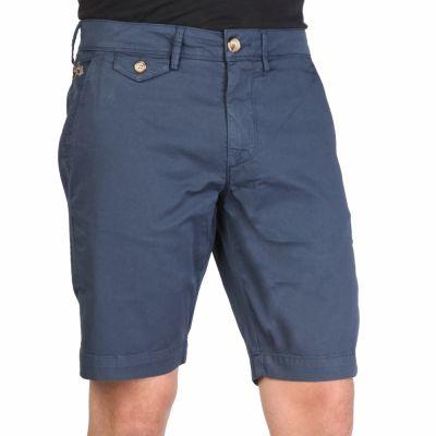 Pantaloni scurti La Martina HMB003TW29 Albastru