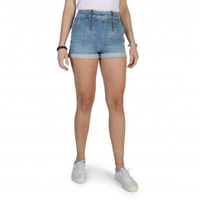 Pantaloni scurti Tommy Hilfiger WW0WW18344 Albastru