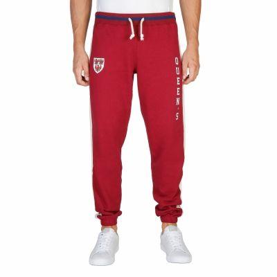 Pantaloni trening Oxford University QUEENS-PANT Rosu