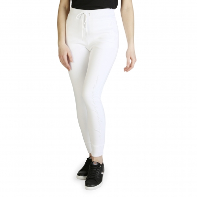 Pantaloni trening Armani Exchange 3ZYP80_YJD2Z Alb
