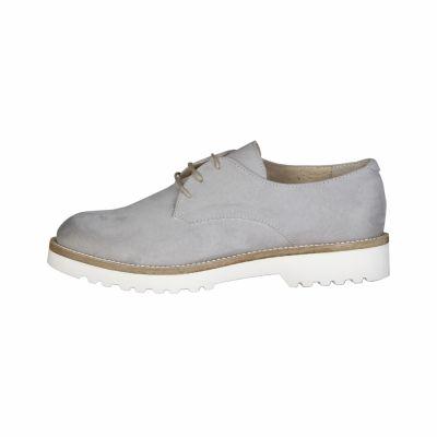 Pantofi siret Made In Italia AIDA Gri