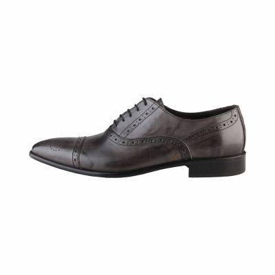 Pantofi siret Made In Italia CESARE Gri