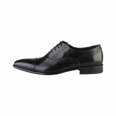 Pantofi siret Made In Italia CESARE Negru