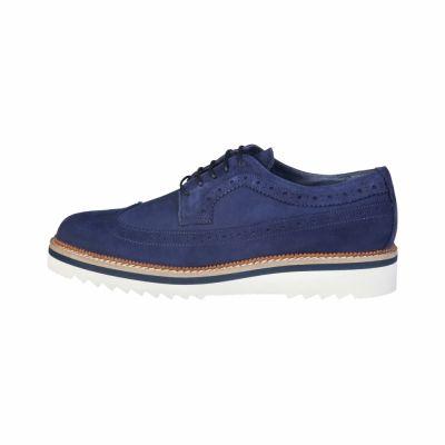 Pantofi siret Pierre Cardin CM-6012 Albastru