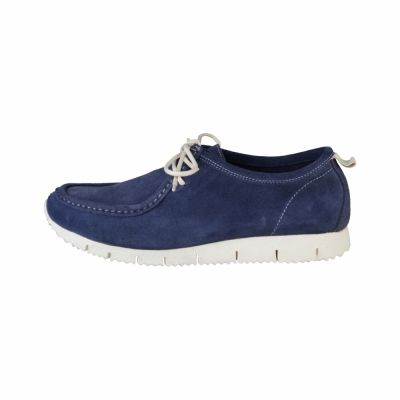 Pantofi siret Made In Italia FABRIZIO Albastru