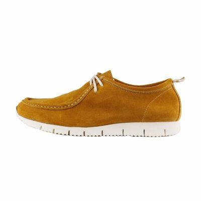 Pantofi siret Made In Italia FABRIZIO Galben