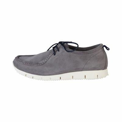 Pantofi siret Made In Italia FABRIZIO Gri
