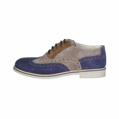 Pantofi siret Made In Italia FEDRO Albastru