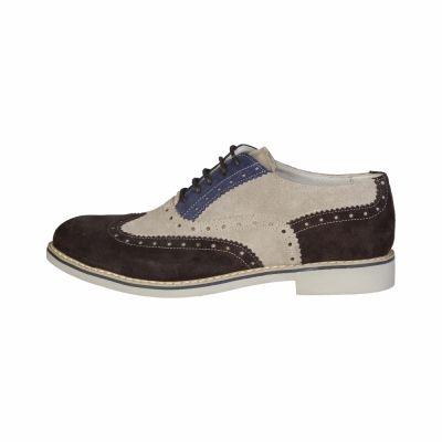 Pantofi siret Made In Italia FEDRO Maro