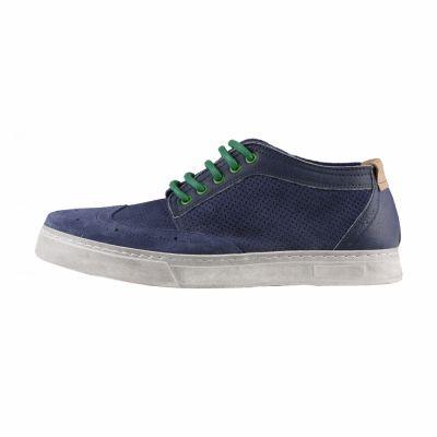 Pantofi siret Made In Italia GIOELE Albastru