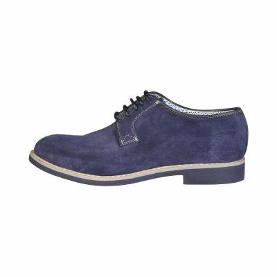 Pantofi siret Made In Italia GIULIANO Albastru
