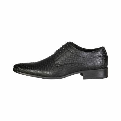 Pantofi siret V 1969 LAZARE Negru