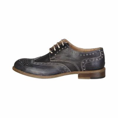 Pantofi siret Made In Italia LIVIO Gri