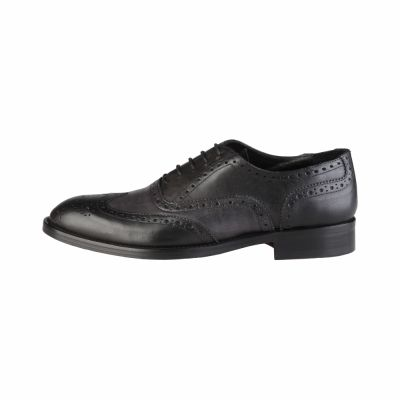 Pantofi siret Made In Italia MATTIA Negru