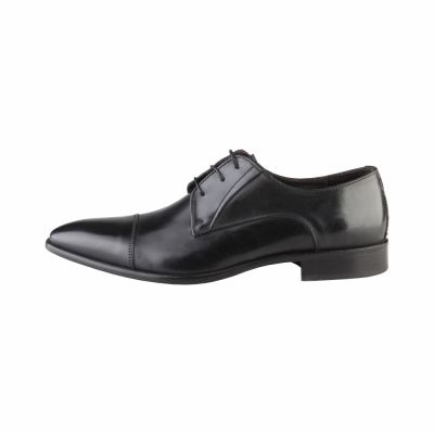 Pantofi siret Made In Italia MICHELANGELO Negru