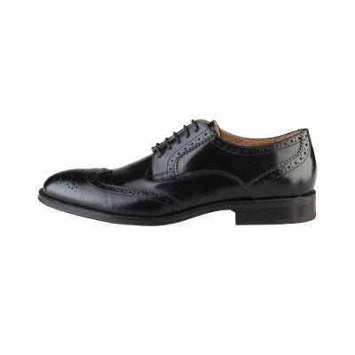 Pantofi siret Made In Italia RENZO Negru