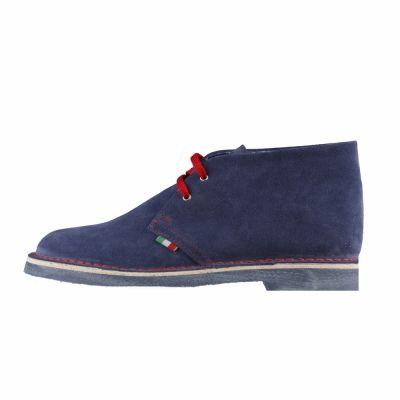 Pantofi siret Made In Italia ROMANO Albastru