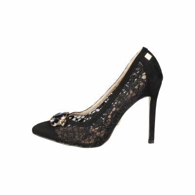 Pantofi cu toc Laura Biagiotti 424_MICRO Negru