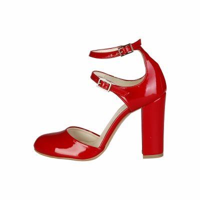 Pantofi cu toc Made In Italia ADA Rosu