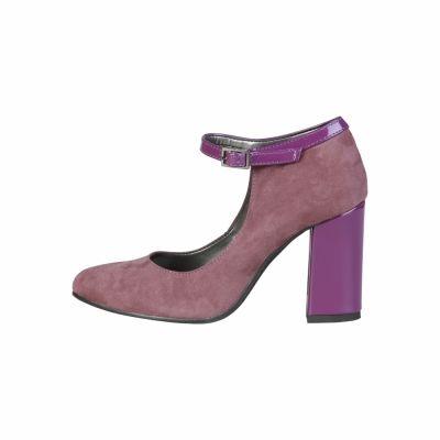 Pantofi cu toc Made In Italia BIANCA Mov