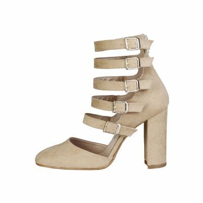Pantofi cu toc Made In Italia CORA Maro