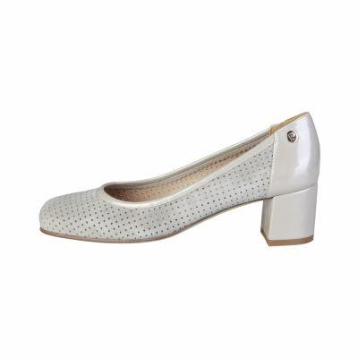 Pantofi cu toc Pierre Cardin CW-2002 Gri