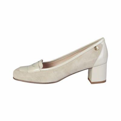 Pantofi cu toc Pierre Cardin CW-2003 Maro