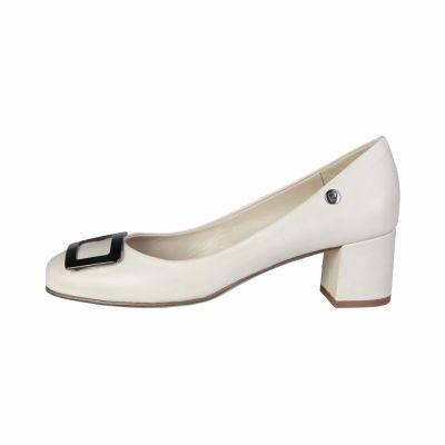 Pantofi cu toc Pierre Cardin CW-2004 Maro