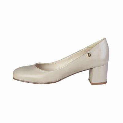 Pantofi cu toc Pierre Cardin CW-2005 Maro
