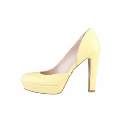 Pantofi cu toc V 1969 DOMINIQUE Galben
