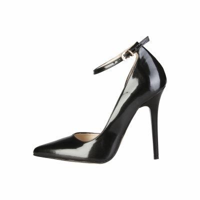 Pantofi cu toc V 1969 EVELYNE Negru