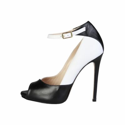 Pantofi cu toc Pierre Cardin EW-1002 Negru