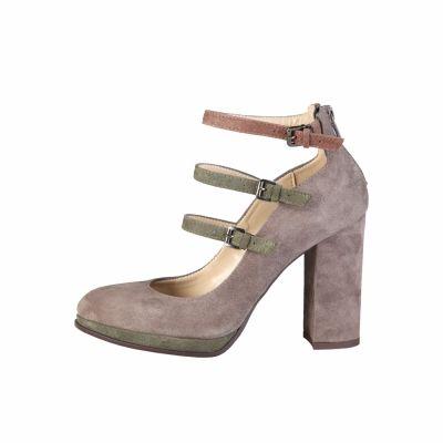 Pantofi cu toc Made In Italia FILOMENA Gri