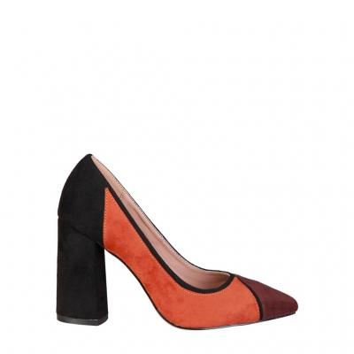 Pantofi cu toc Fontana 2.0 VALERIA Maro