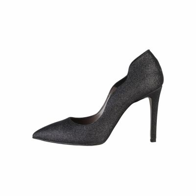 Pantofi cu toc Made In Italia FRANCESCA Negru