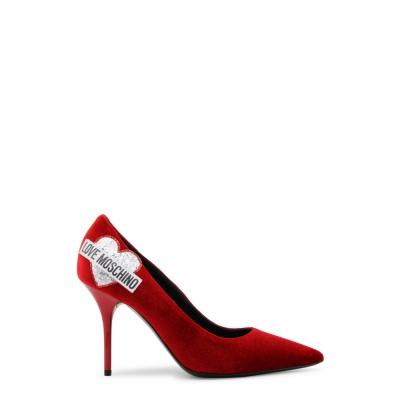 Pantofi cu toc Love Moschino JA10039C16IFX Rosu
