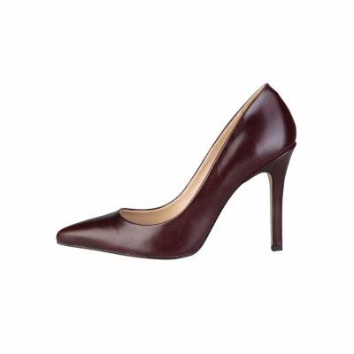 Pantofi cu toc V 1969 MATHILDE_VITELLO Rosu