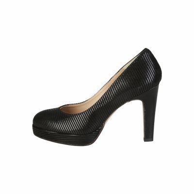 Pantofi cu toc V 1969 MELODIE Negru