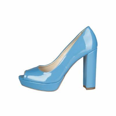 Pantofi cu toc Made In Italia MIA Albastru