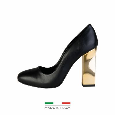 Pantofi cu toc V 1969 MIMI Negru