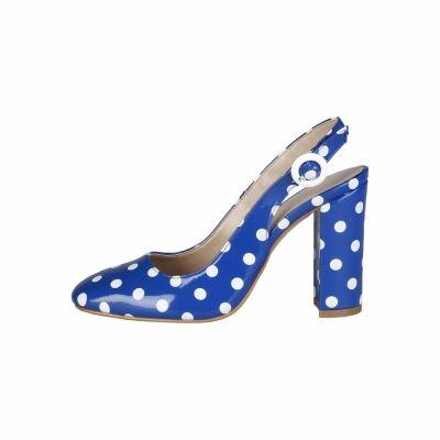 Pantofi cu toc Made In Italia MINA Albastru