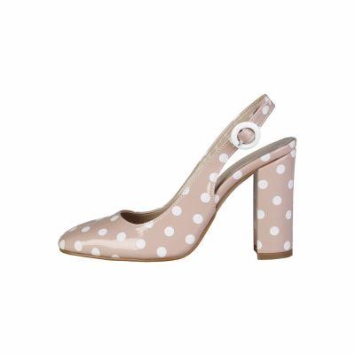 Pantofi cu toc Made In Italia MINA Roz