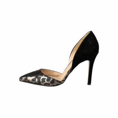 Pantofi cu toc V 1969 NAOMI_CAMO Negru