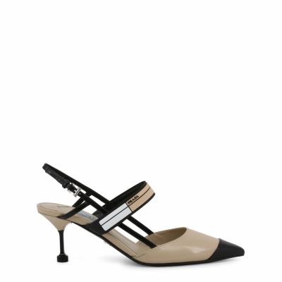 Pantofi cu toc Prada 1I296I Maro