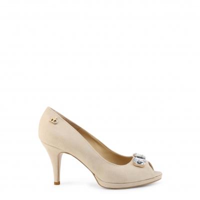 Pantofi cu toc Roccobarocco RBSC0LR01CAM Maro