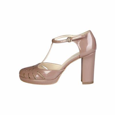 Pantofi cu toc Made In Italia SEFORA Roz