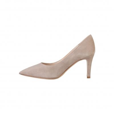 Pantofi cu toc V 1969 5541_LID75 Maro