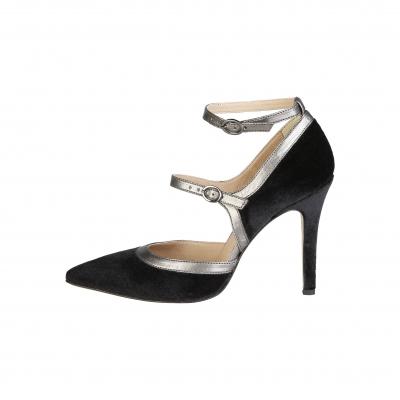Pantofi cu toc V 1969 GENEVIEVE Negru
